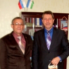 Вручение адвокату Зубакову С.Г. ценного подарка